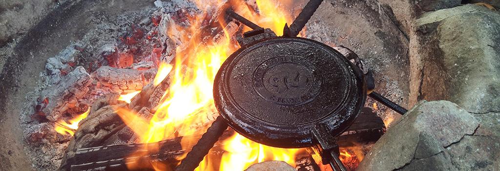 waffeleisen lagerfeuer spa grill shop sandwichmaker waffeleisen dutch oven. Black Bedroom Furniture Sets. Home Design Ideas