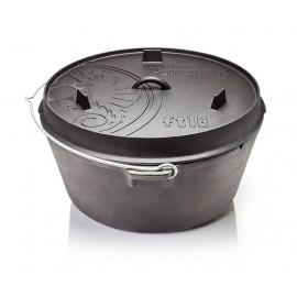 Petromax Feuertopf ft18 (Dutch Oven) ohne Füße (planer Boden)