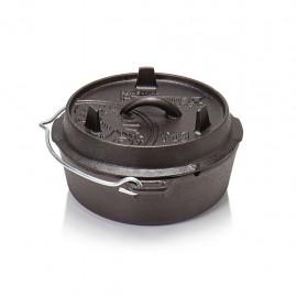 Petromax Feuertopf ft3 (Dutch Oven) ohne Beine (planer Boden)