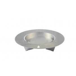 Fireplate Feuerschale, 100cm, Edelstahl, radius design