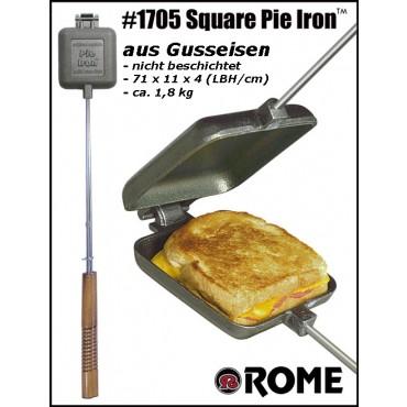 Sandwichmaker Single aus Gusseisen von Rome Industries