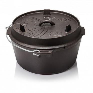 Petromax Feuertopf ft9 (Dutch Oven) ohne Beine (planer Boden)