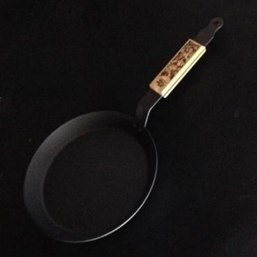 Netherton Fat Punk Crepe, Omelette, Pfannenkuchen Pfanne (Eisen) 26cm
