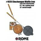 Waffeleisen, rund, Rome Industries