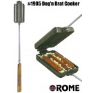 Rome Bratwurst / Hot Dog Eisen #1905