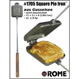 Rome Sandwichmaker Single Pie Iron #1705