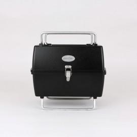 Aniva Mangal PRTK, klappbarer Grill, schwarz, Aluminium Guss