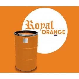 Grillfass BBQ BarrelQ, groß, Edelstahl, Royal Orange