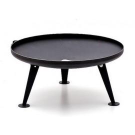 Fire Pit Ø 80cm - Black (Geschützte Oberfläche) - Ohne Erweiterung