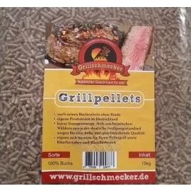 Grillschmecker Pellets, Buchenholz, 1,5kg Sack; Perfekt für Ooni Pellet Pizzaofen