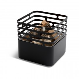 höfats Cube Feuerkorb, Edelstahl pulverbeschichtet