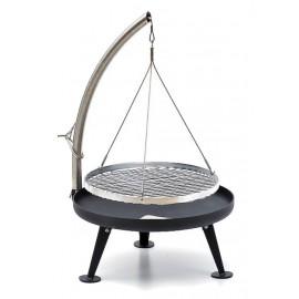 Fire Pit Holzkohlegrill 60cm (Pulverbeschichtung)
