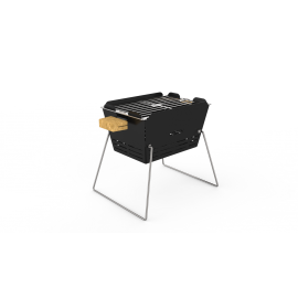 Knister Holzkohle Grill, kleiner Design Stadtgrill