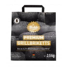 Holzkohle Grillbriketts von Kohlemanufaktur