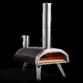 Ooni Fyra Pizzaofen | Pellet betrieben mit Pizzastein
