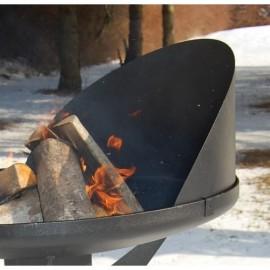Nielsen Windschirm / Windschutz für Bal Grill und Fire Pit