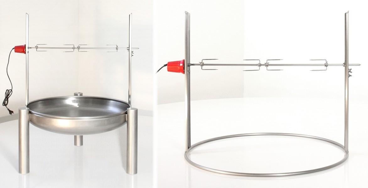 feuerschale edelstahl rostfrei 90 cm ricon grill shop sandwichmaker waffeleisen dutch. Black Bedroom Furniture Sets. Home Design Ideas