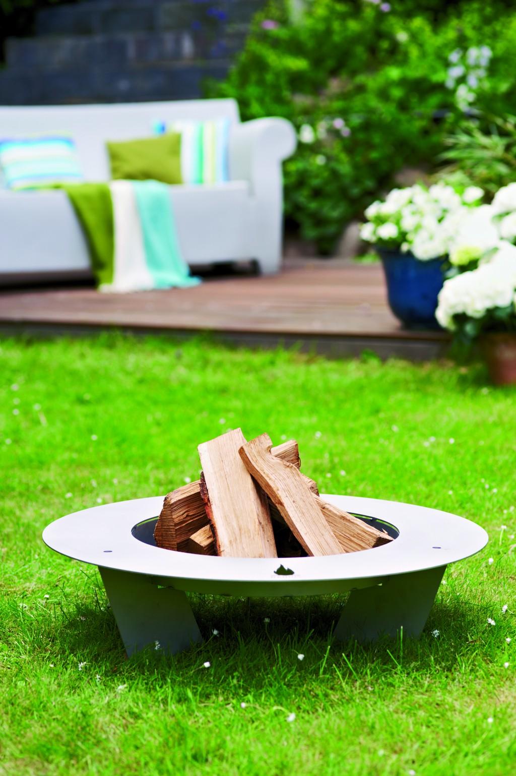 fireplate designer feuerschale 75cm edelstahl radius. Black Bedroom Furniture Sets. Home Design Ideas