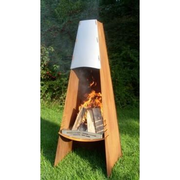 A - Fireplace / Garten