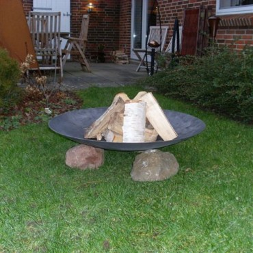 Nielsen Outdoor Solutions Fire Bowl 100 cm Ø without legs out of Steel