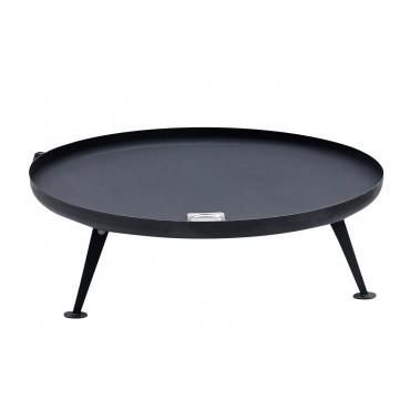 Fire Pit -100cm, coated, black - Nielsen