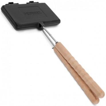 Petromax Waffle Iron, short handles, cast-iron - preseasoned