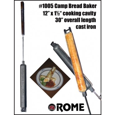 Rome #1005 Camp Bread Baker - Cast Iron