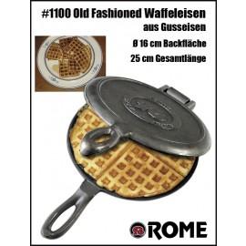 Rome's Old Fashioned Waffle Iron #1100