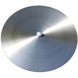 Stainless steel cover for fire bowl or grill, 50 cm, Ricon