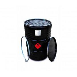 BBQ Barrel by BarrelQ XL, stainless steel
