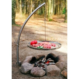 Swing Grill w. Hanger and round grid