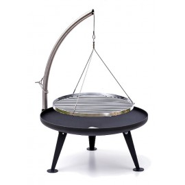 Fire Pit Ø 80cm - Charcoal Grill (Protected Surface)