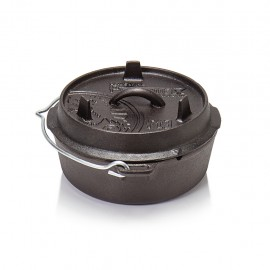 Petromax Dutch Oven ft3 without legs (plane bottom)