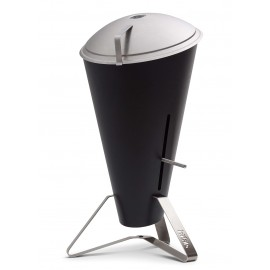 höfats Cone Charcoal Grill, Stainless Steel