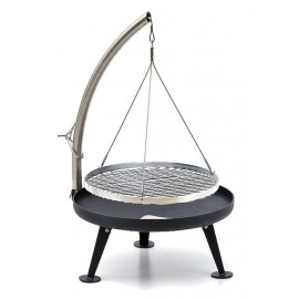 Fire Pit Charcoal Grill 60cm (Protected Surface)