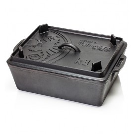 Petromax Loaf Pan k8 with Lid, cast iron