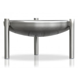 Fire bowl stainless steel 60 cm, Ricon,, front