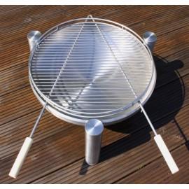 Barbecue grid rost Delux 9550, 80 cm, Ricon
