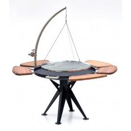 Bål Grill 100cmØ w. hanger + round grid