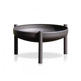 Ricon Fire bowl, coated, black, 50 cm, Ricon