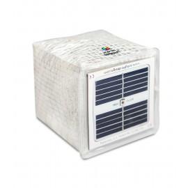 SolarPuff Solar Lantern foldable Camping, LED multi colour