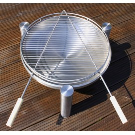 Barbecue grid rost Delux 9550, 70cm, Ricon